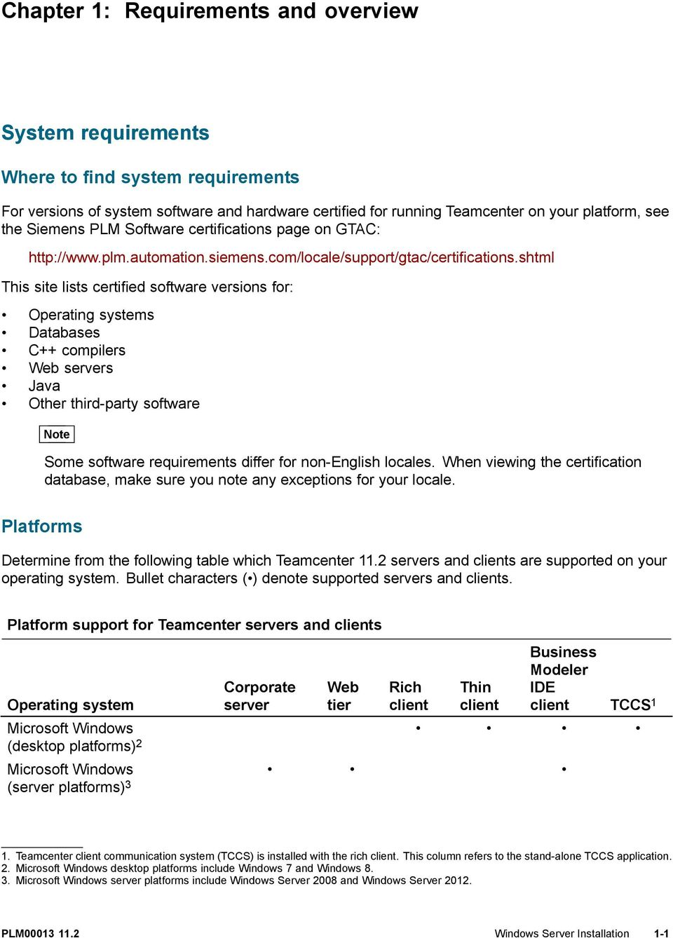 SIEMENS  Teamcenter Windows Server Installation PLM - PDF