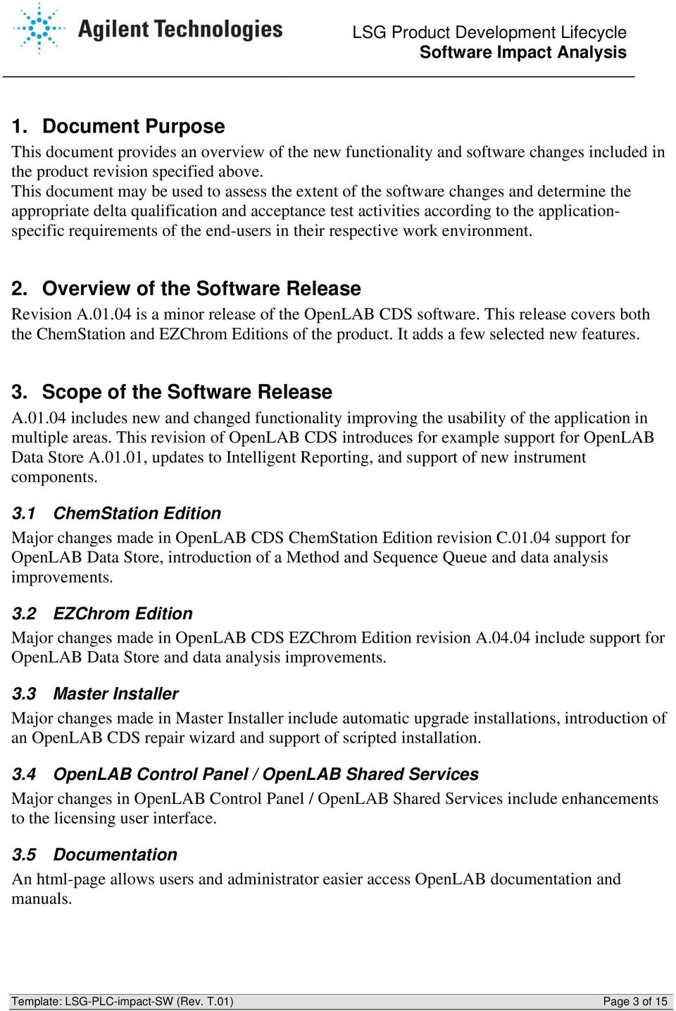 Impact Analysis for Software changes in OpenLAB CDS A PDF
