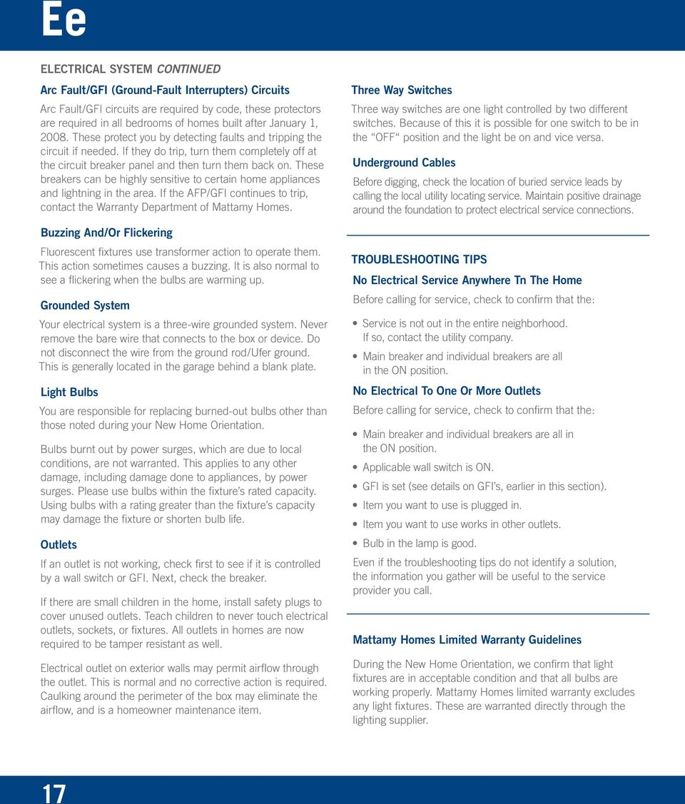 Table Of Contents Safety Security Checklist 53 Spring Summer Wiring Garage Lights Moreover Tiny House With Screen Porch On These Breakers Can Be Highly Sensitive To Certain Home Appliances And Lightning In The Area