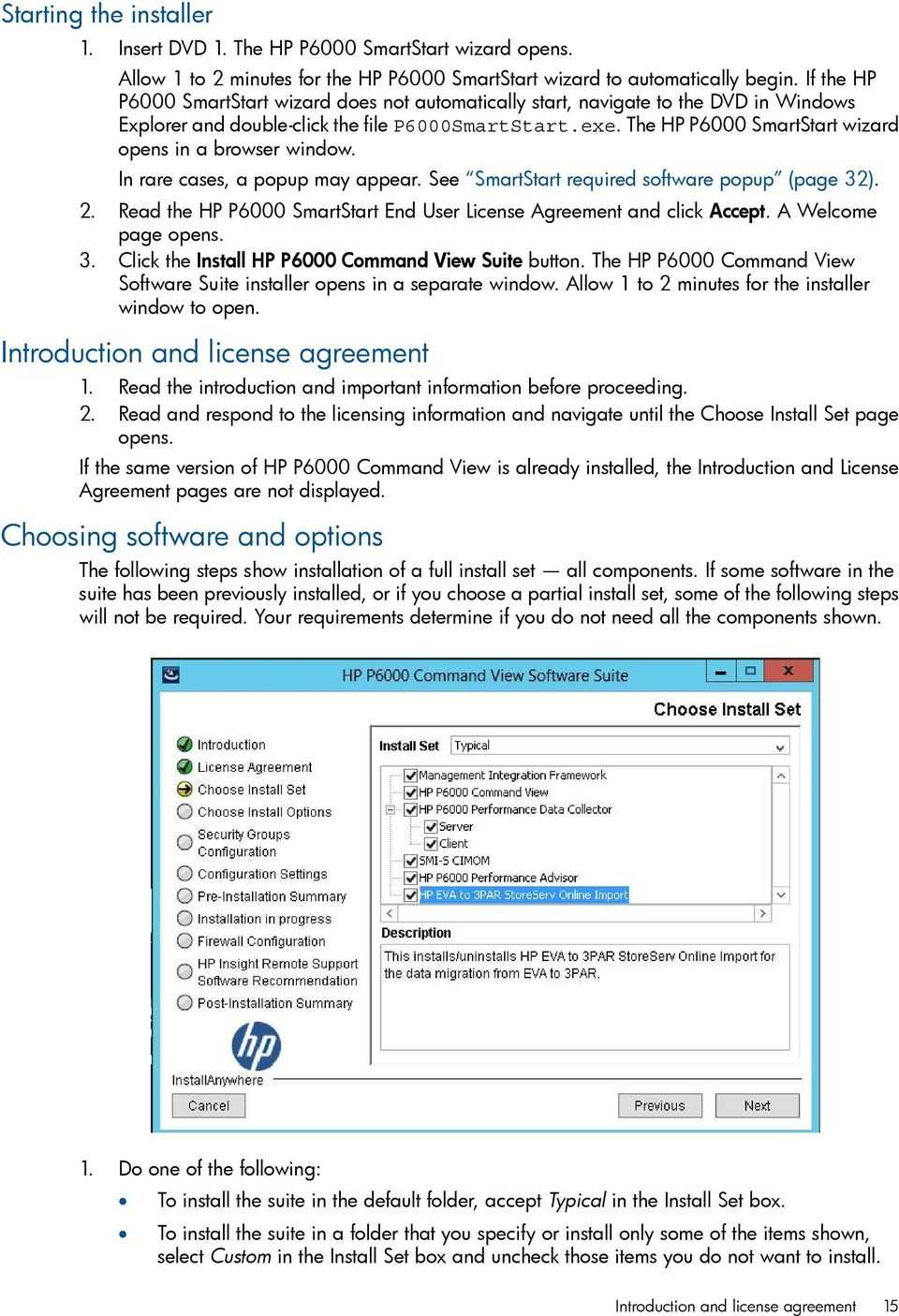 HP P6000 Command View Software Suite Installation Guide - PDF