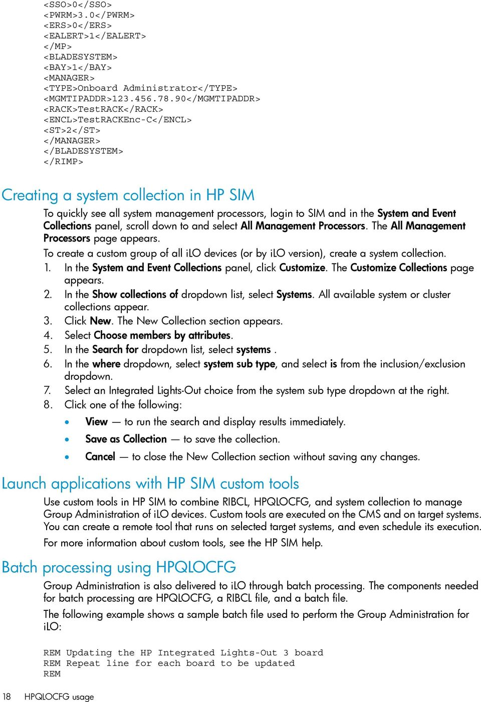 HP ilo 4 Scripting and Command Line Guide - PDF