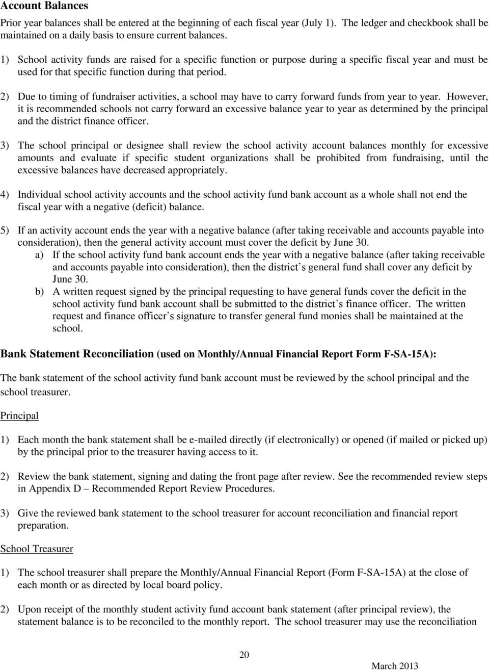 Accounting Procedures For Kentucky School Activity Funds Pdf