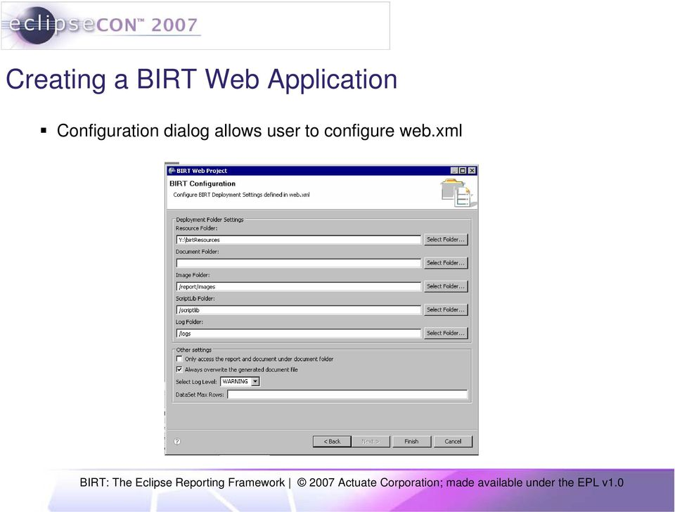 How to Easily Integrate BIRT Reports into your Web Application - PDF