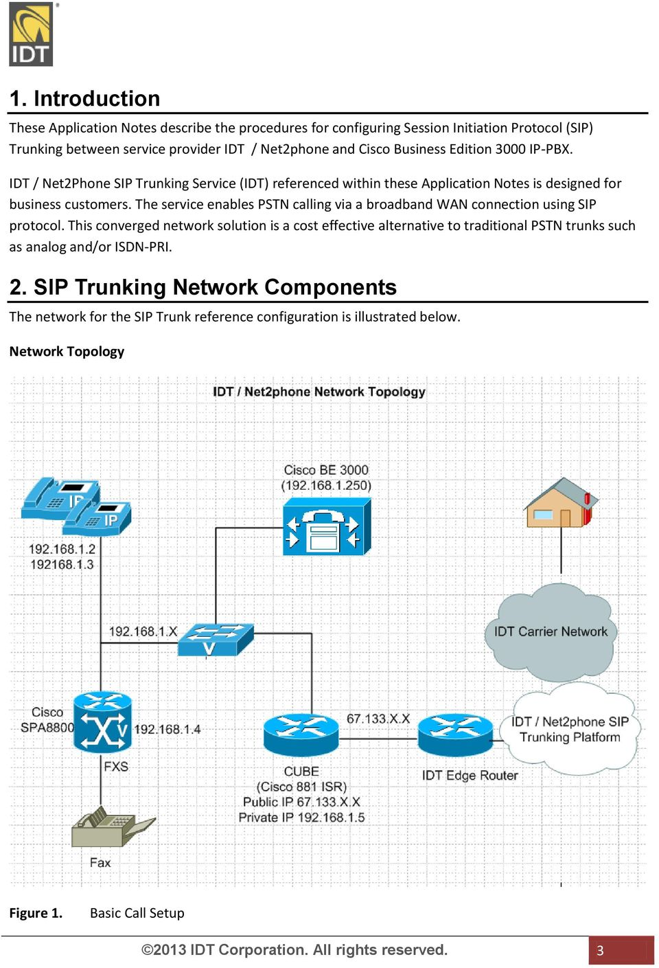 IDT / Net2phone SIP Trunking Configuration Guide for Cisco Business
