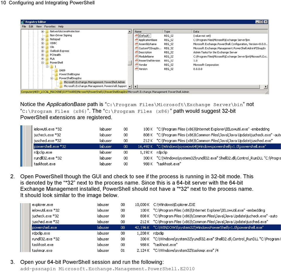 Configuring and Integrating PowerShell - PDF