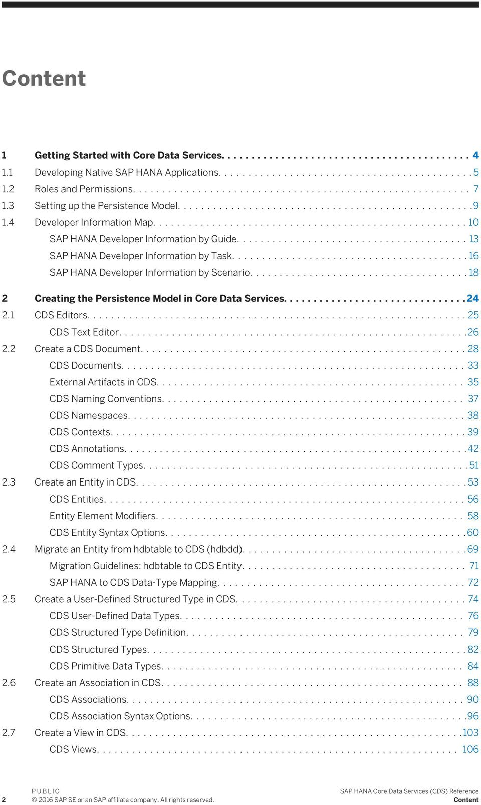 SAP HANA Core Data Services (CDS) Reference - PDF