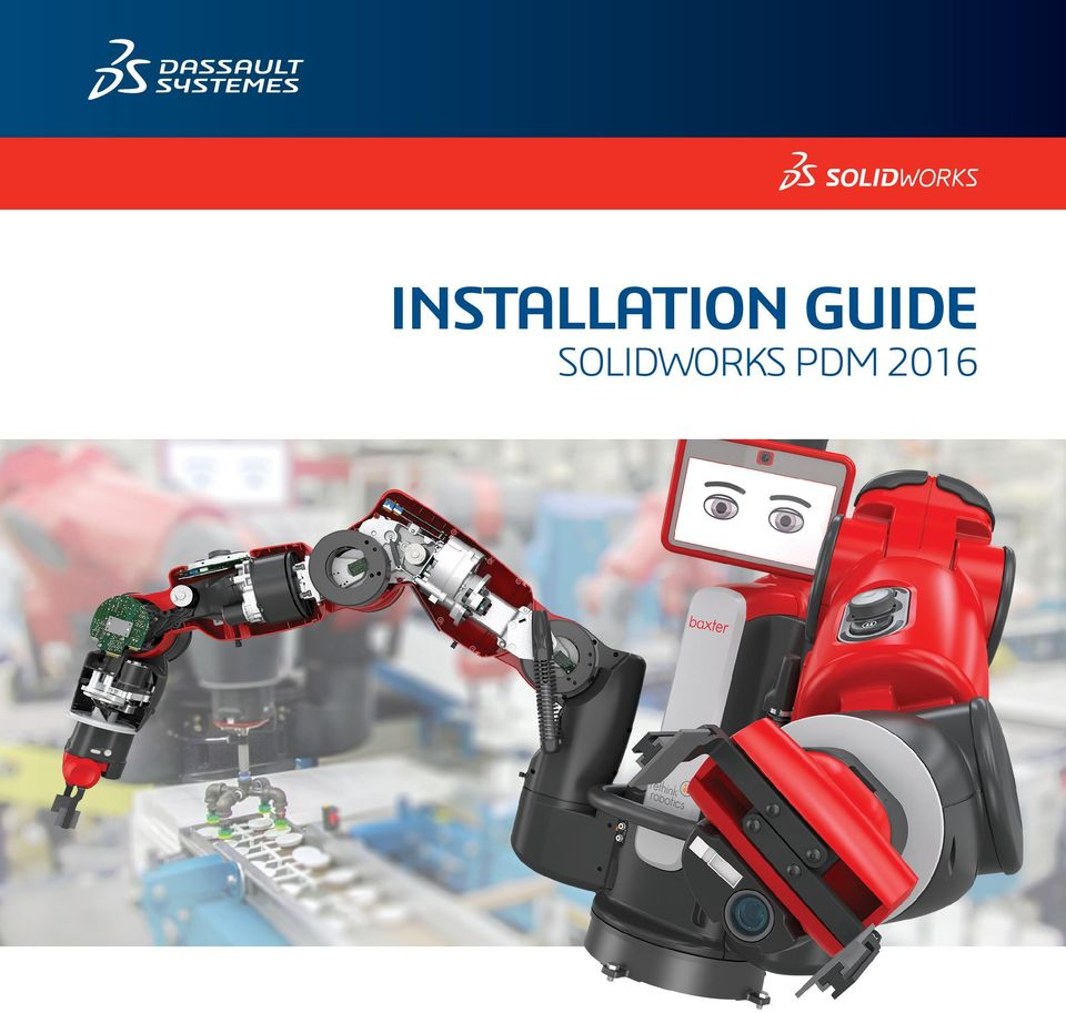 INSTALLATION GUIDE SOLIDWORKS PDM PDF