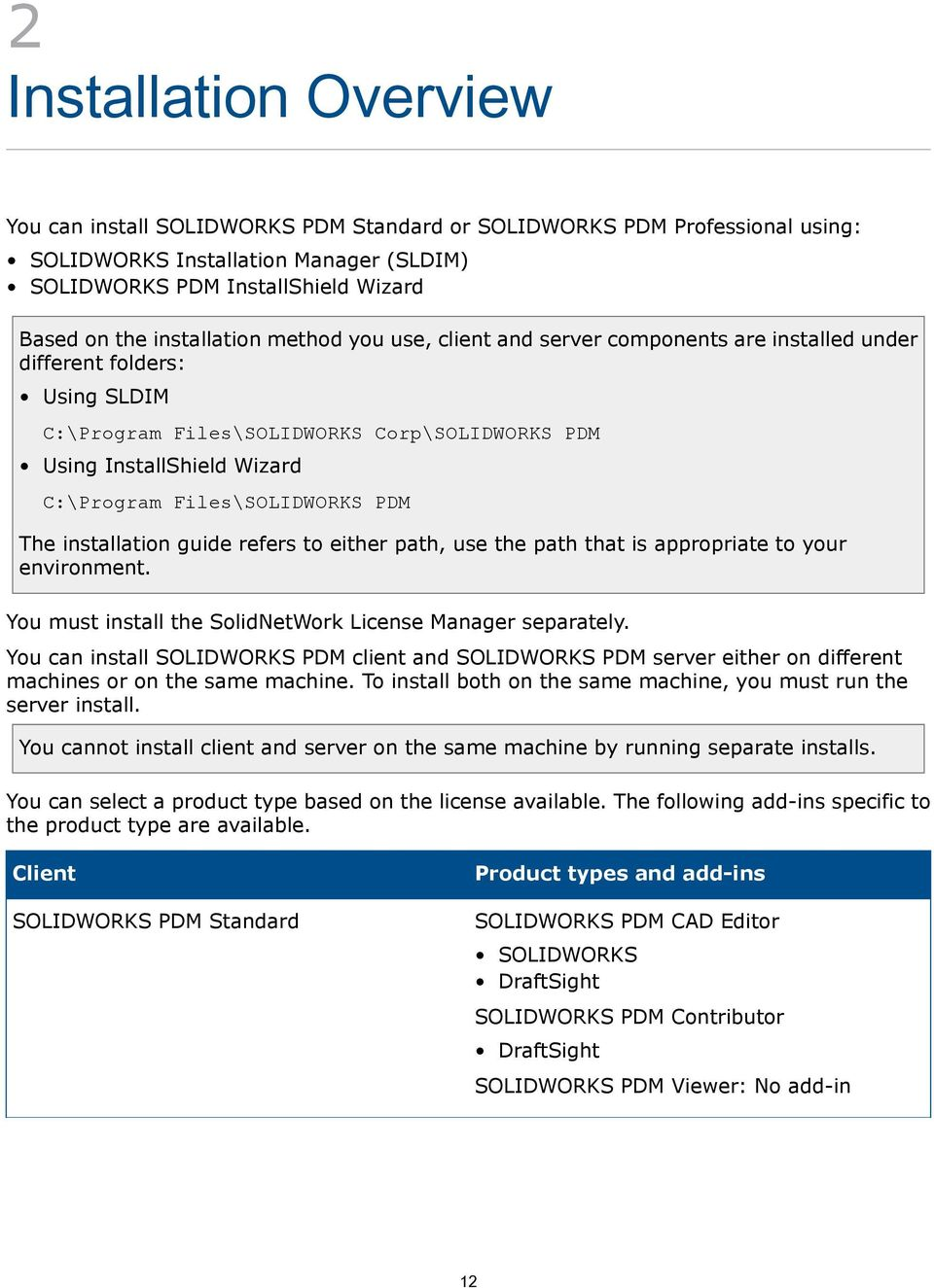 Installation instructions for solidworks products mlc cad systems.