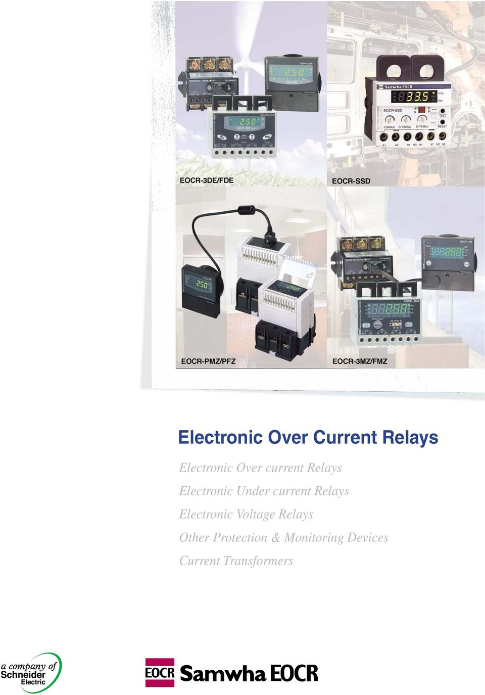 Electronic Over Current Relays Pdf Selector Driven By Voltage