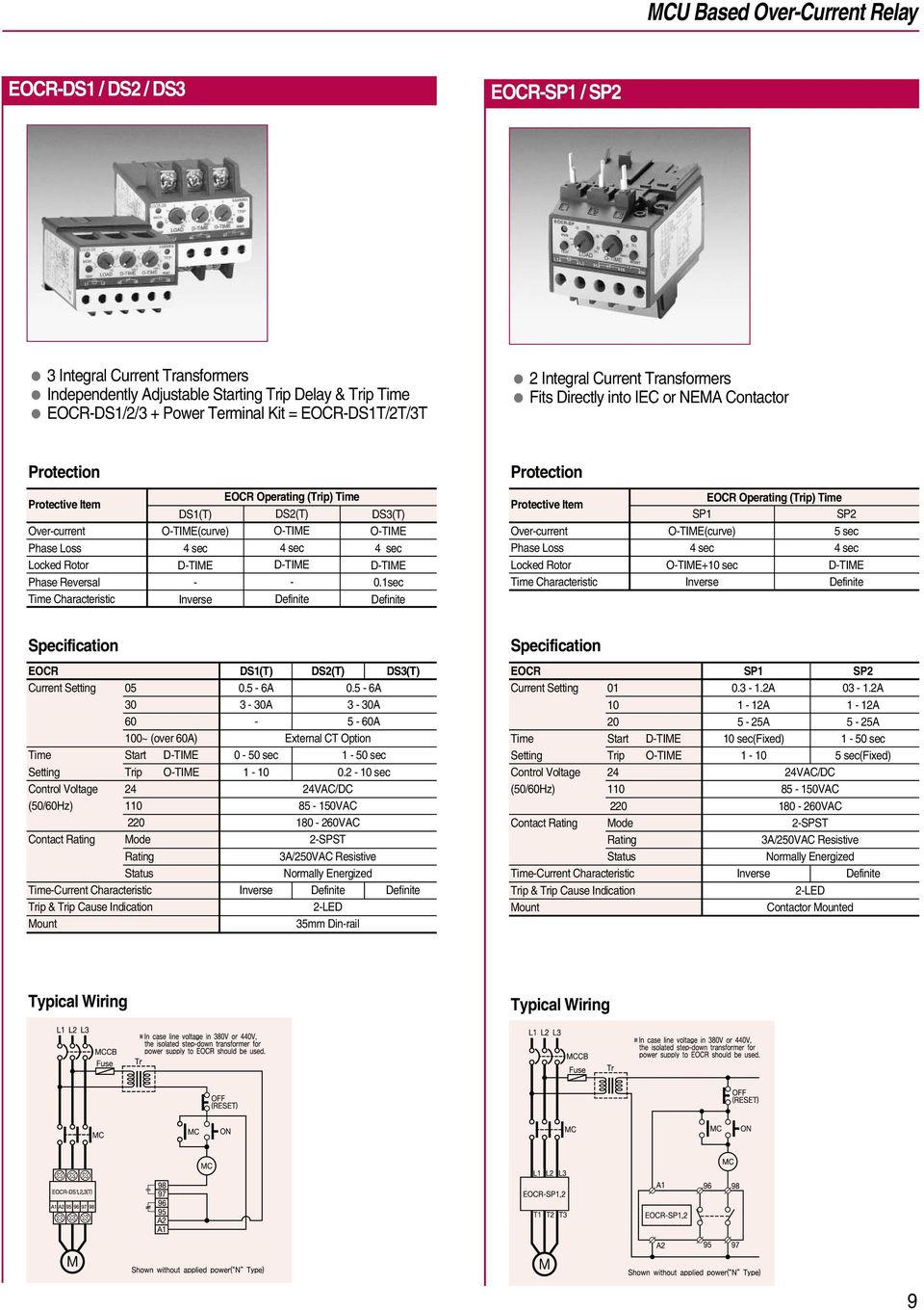 Electronic Over Current Relays Pdf Protection Dc Circuit Breaker With Time Delay Beijing Otime 4 Sec Dtime Definite Ds3t 0