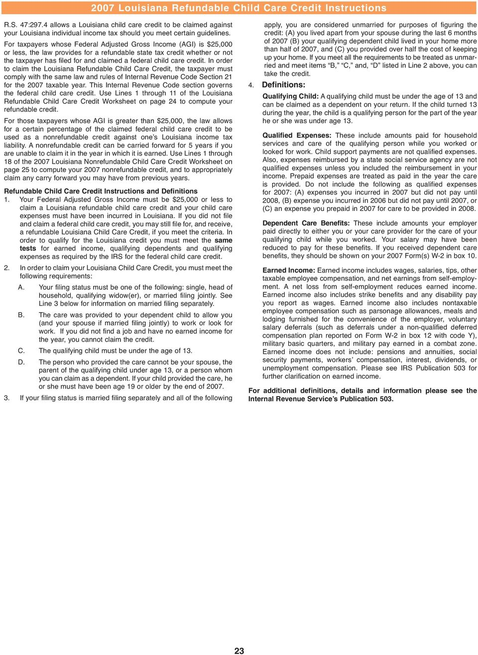 Instructions For Nonresident And Part Year Resident Npr Worksheet