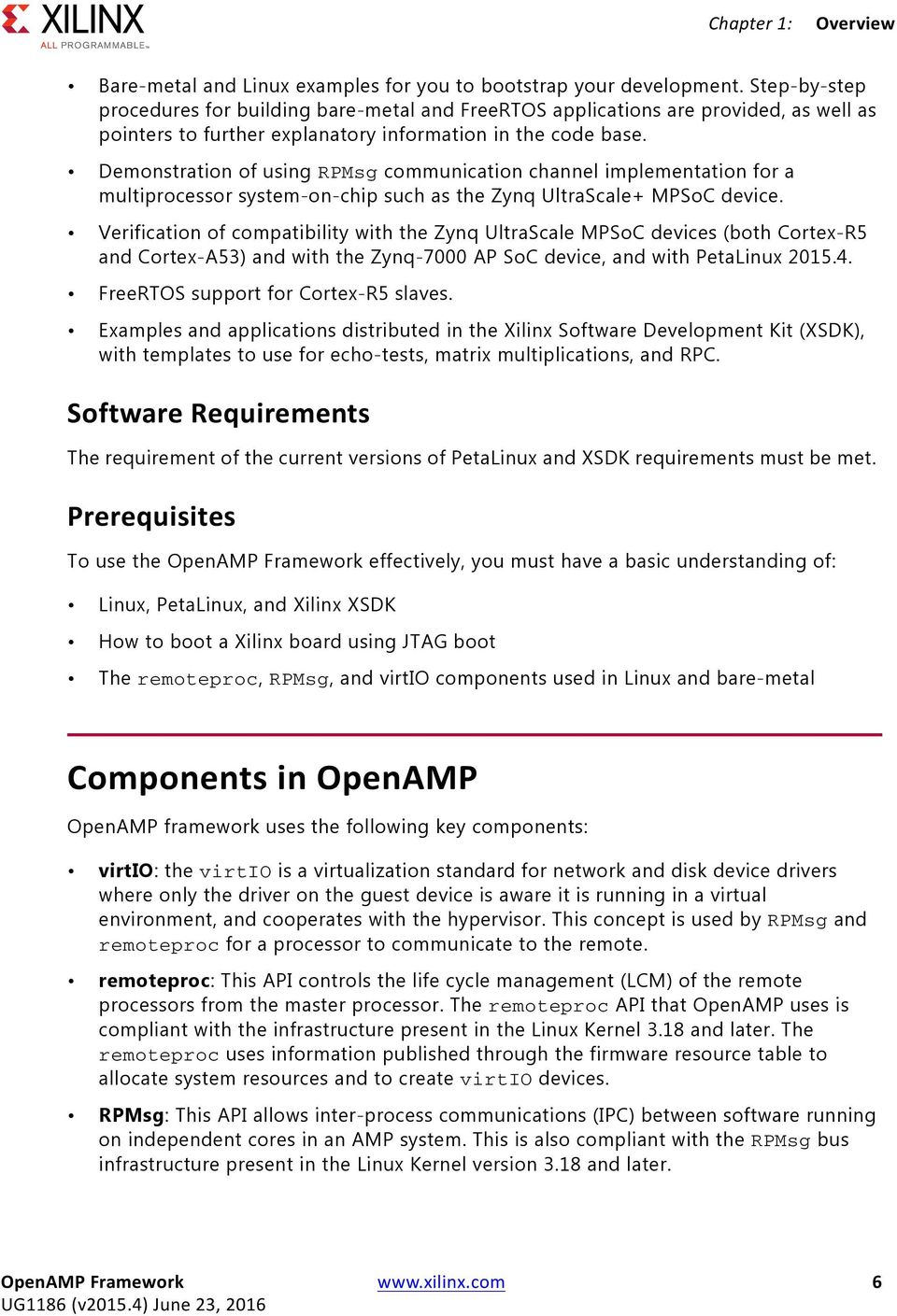OpenAMP Framework for Zynq Devices - PDF