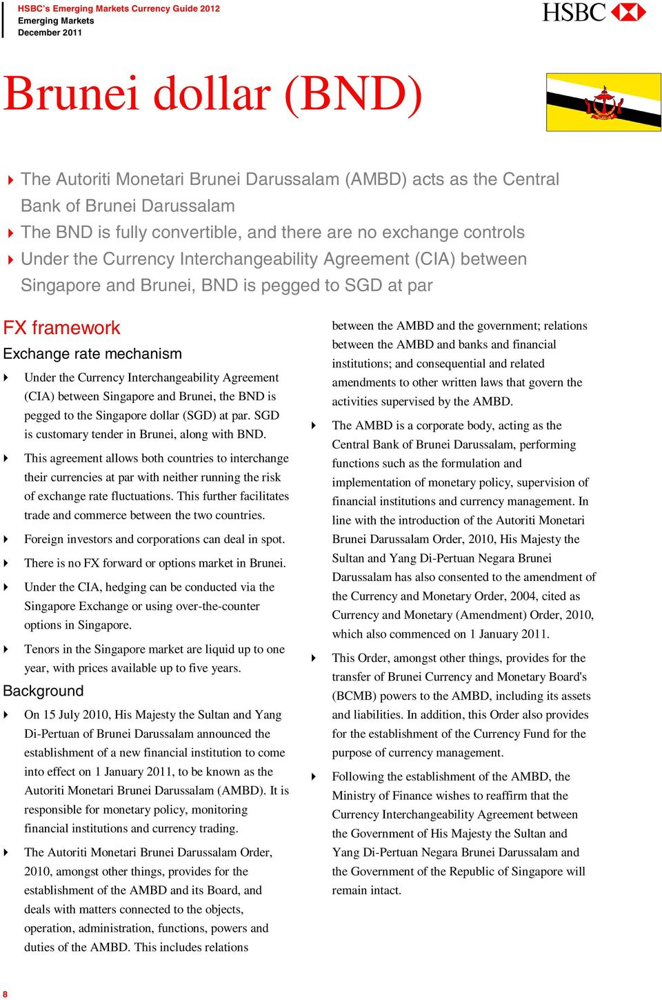 HSBC s Emerging Markets Currency Guide PDF