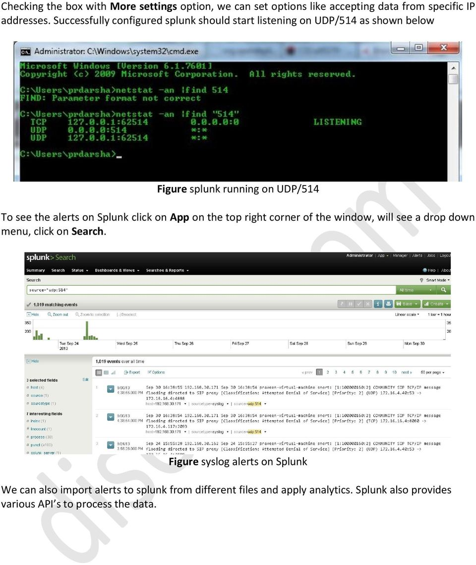 disect Systems Logging Snort alerts to Syslog and Splunk