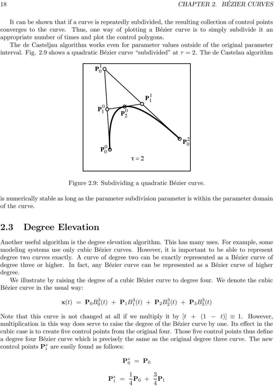 Figure 2 1: Center of mass of four points  - PDF