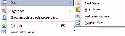 View Avaya VPFM discovery domain on SCOM 2007 console VPFM device events appear in results view. 3. In results view, right-click on any device. Options for the device appears. 4.