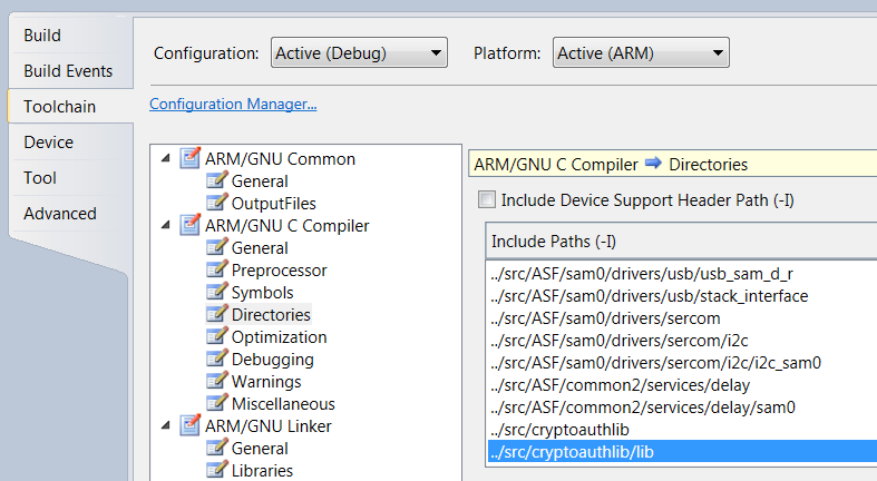 APPLICATION NOTE  CryptoAuthLib  Driver Support for Atmel