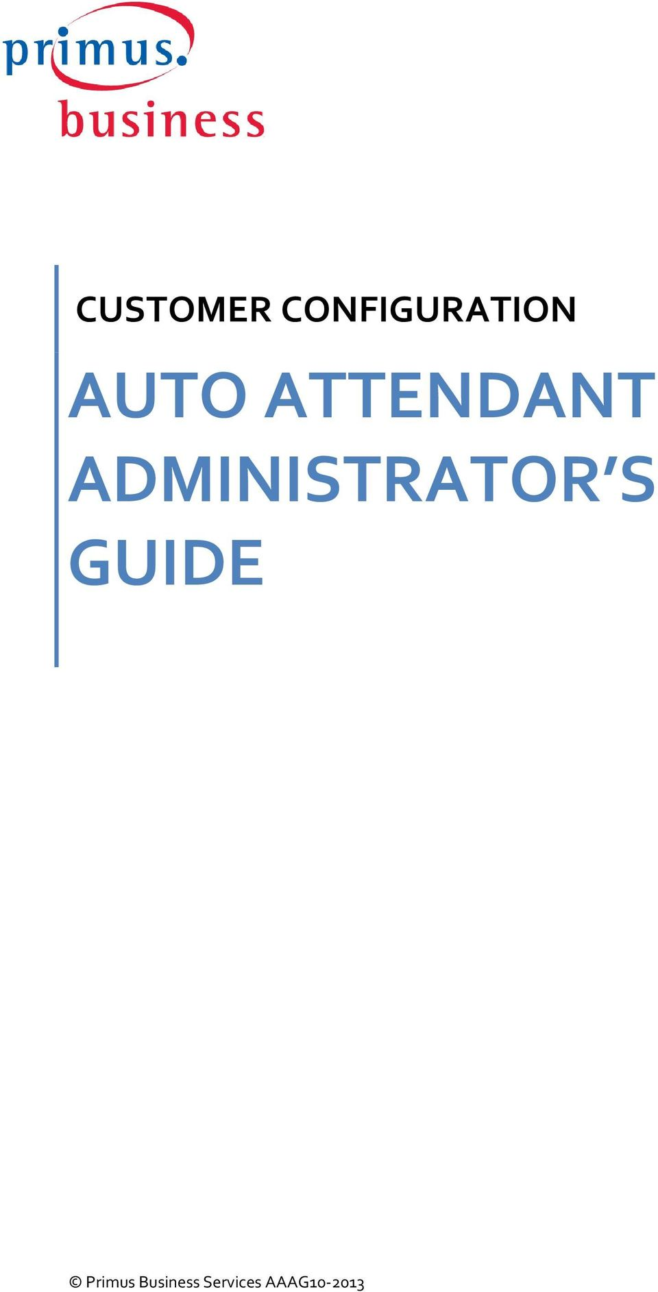 ADMINISTRATOR S GUIDE