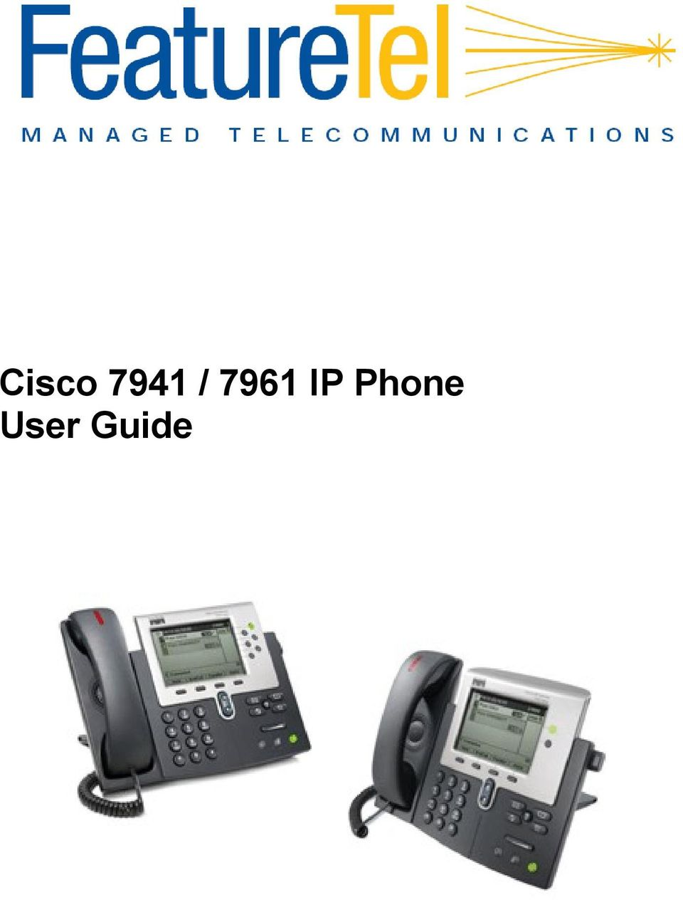 Cisco 6921 unified ip phone user guide.