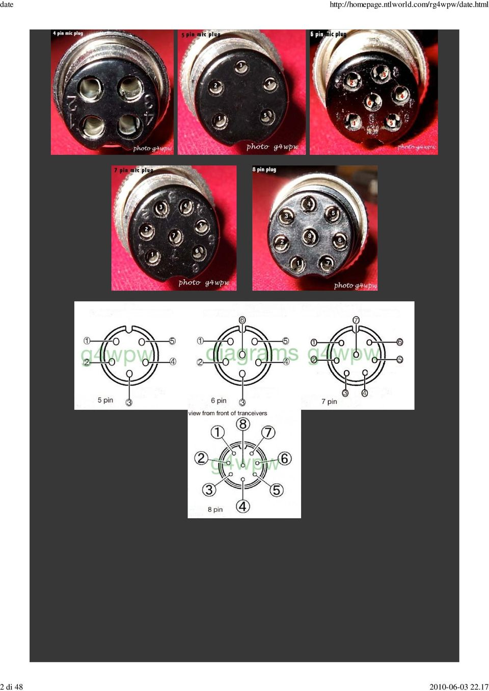 IF YOU HAVE ANY MICROPHONE INFORMATION YOU WOULD LIKE TO ADD ... D Microphone Wiring Diagram To Yeasu Ee on