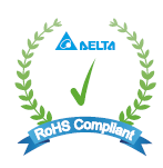 Others Delta RoHS Compliant Restriction of the usage of hazardous substances The European directive 2011/65/EU limits the maximum impurity level of homogeneous materials such as lead, mercury,