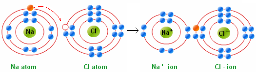 Transfer of Electrons The metal transfers its valence electron(s) to the