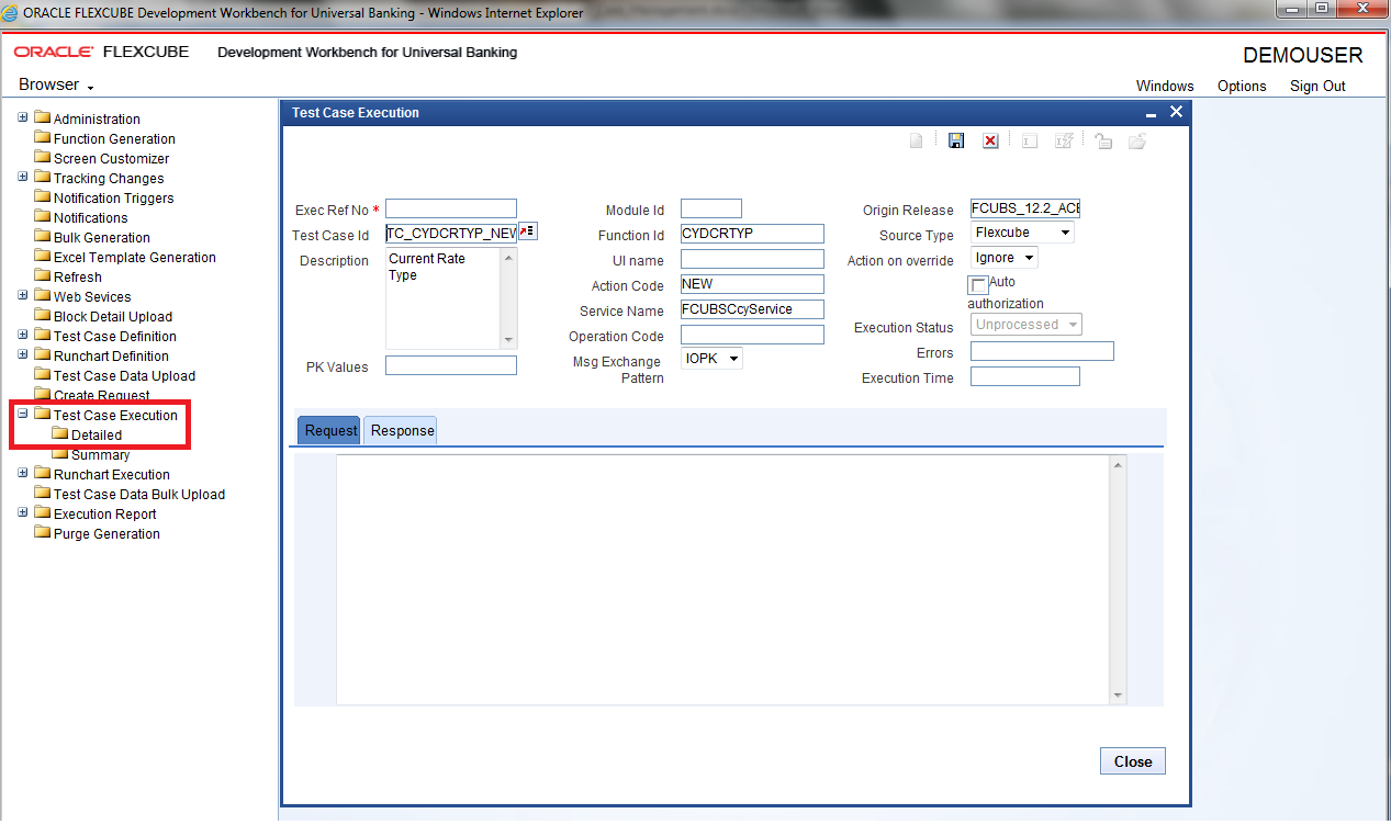 Oracle FLEXCUBE Enterprise Limits and Collateral Management Test