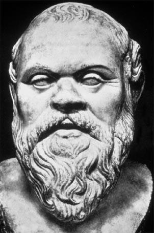 SOCRATES (469 BC) The first great Greek philosopher Wanted people to think about their values and