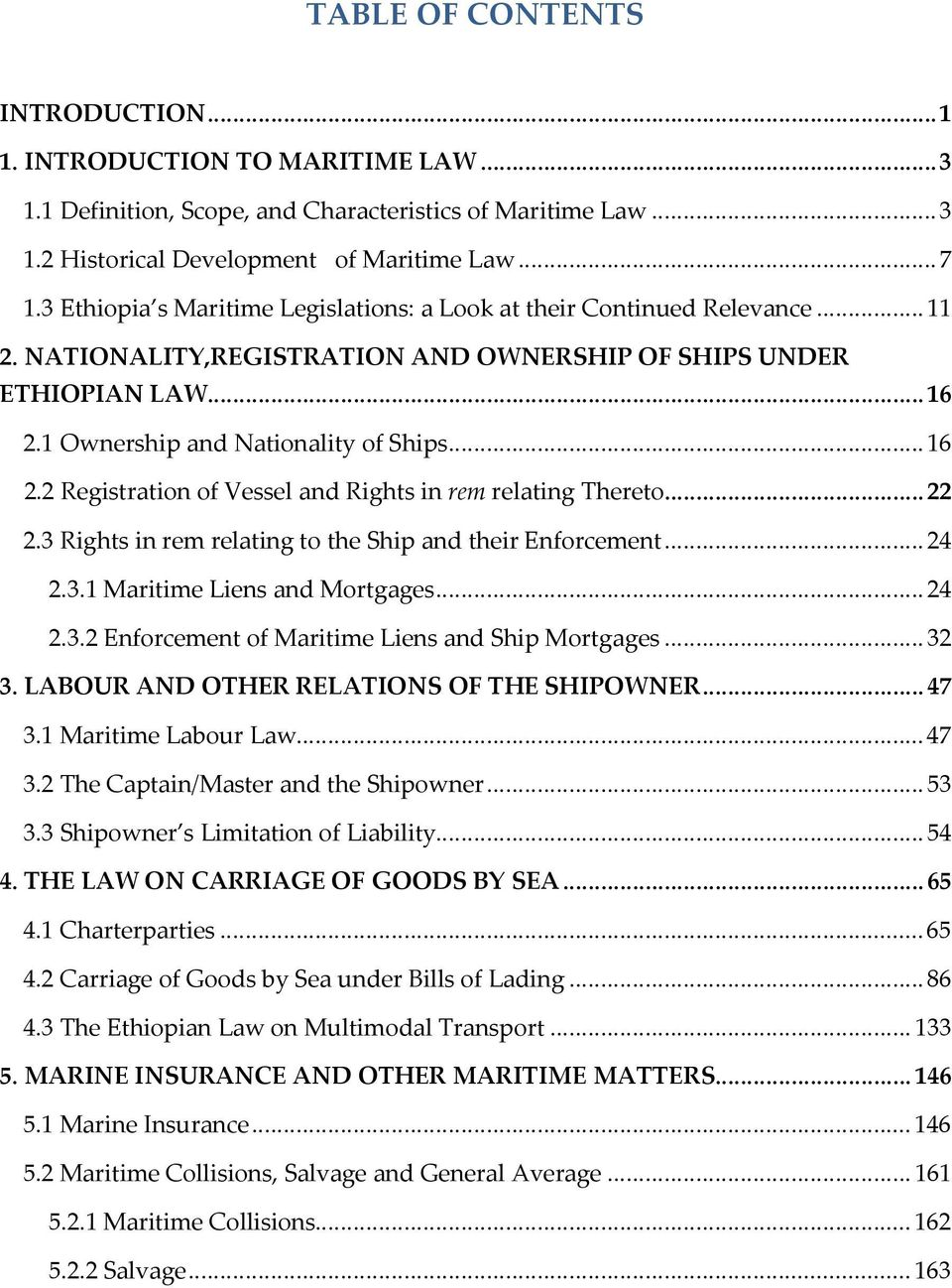 maritime law teaching material - pdf