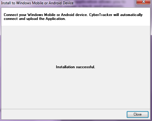 NAILSMA CyberTracker on Android Mobile Devices - PDF