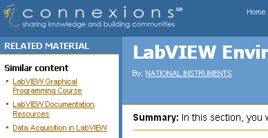 Introduction to LabVIEW For Use in Embedded System