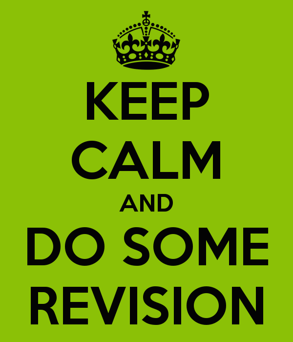 What is meant by revision (noun) or revising (verb) The clue is in the word: RE VISION RE means to do something again.