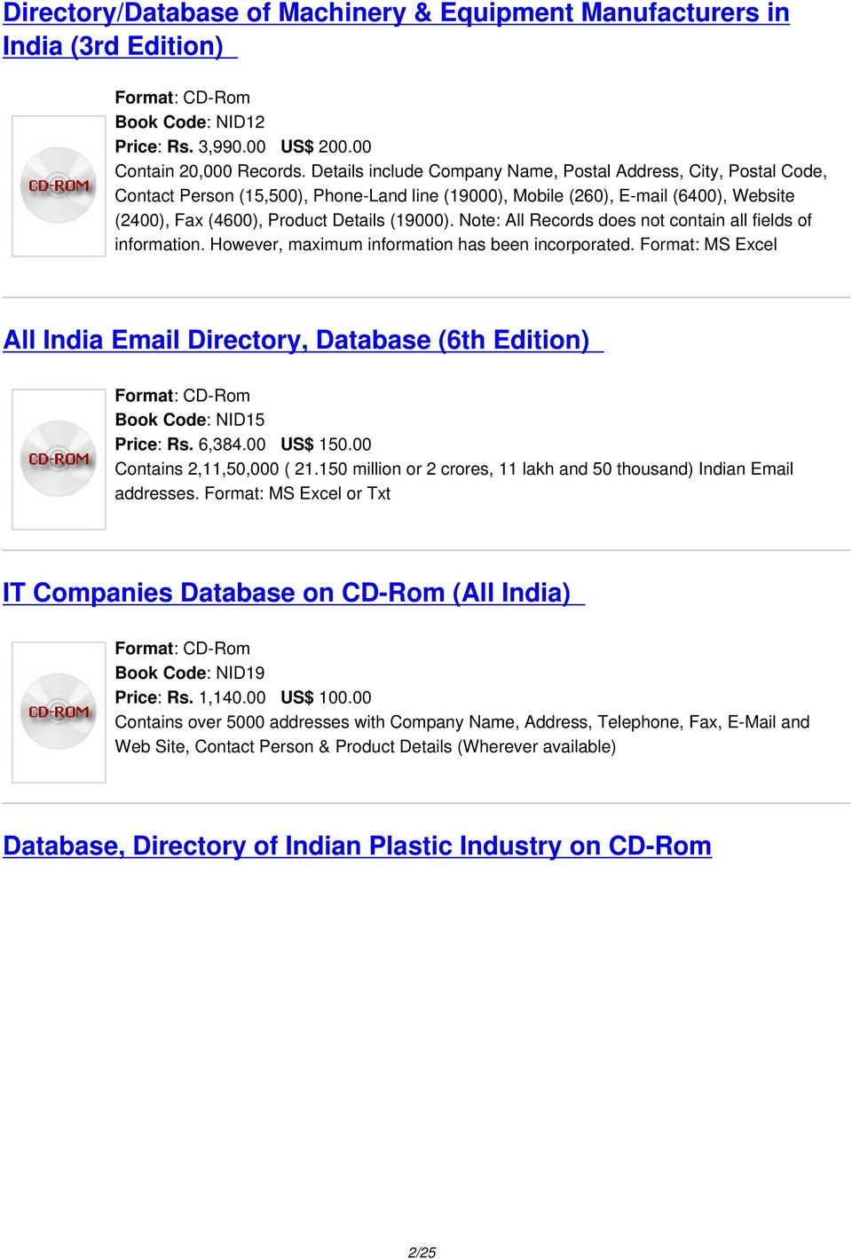 All India Companies, Industries, Business houses, Corporates