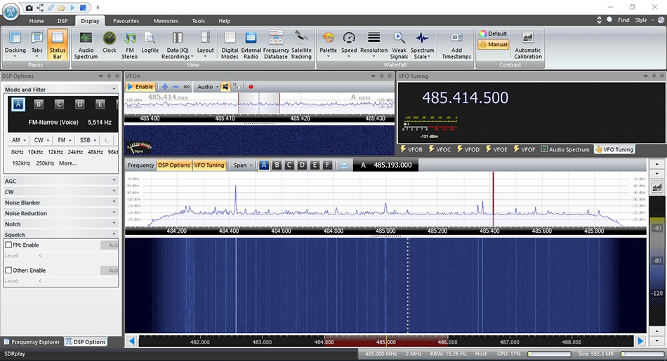 Using  SDR-Console by Simon Brown - PDF
