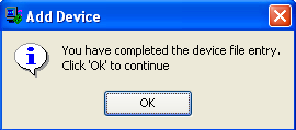 In the dialog box of Figure 72, click OK When the Add Device requestor dialog box appears, select the two_input_xor.bit file, which is the same one you used before.