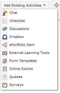 Optional: If you wish, select the checkbox next to Open in New Window to have the content open in a new window when accessed by students. 6. Click Create.