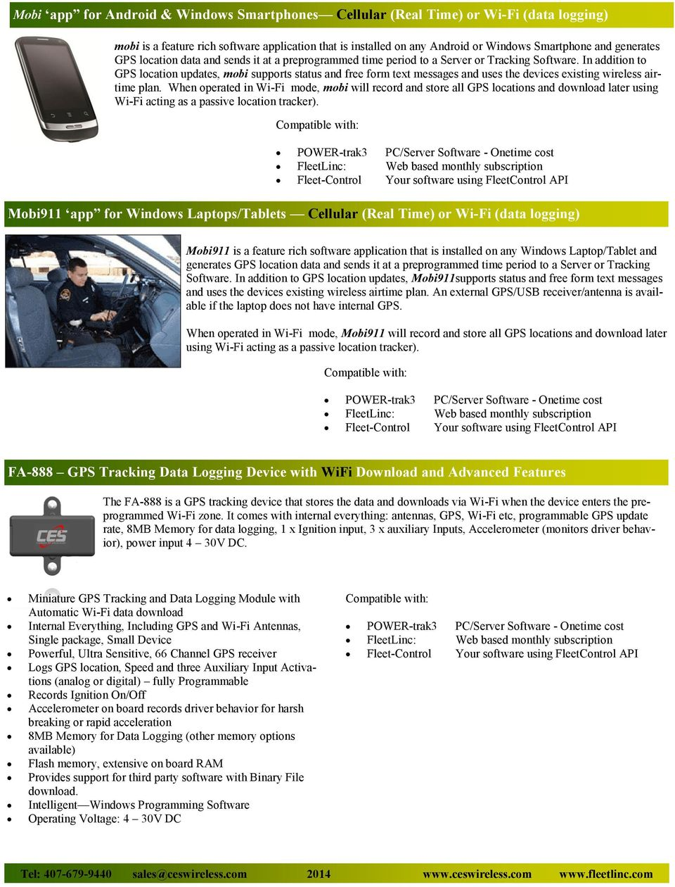 INTEGRATED SOLUTIONS FOR PUBLIC SAFETY, FLEET MANAGERS