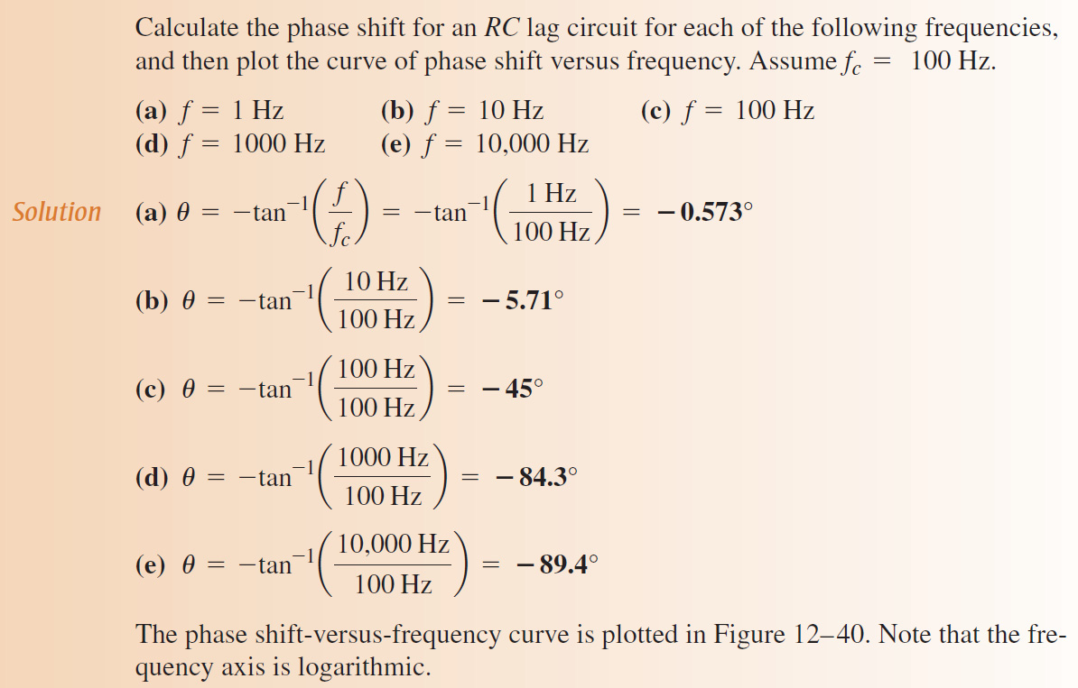 12.7: Open-Loop Frequency and Phase Response Gain-Versus-Frequency Analysis :