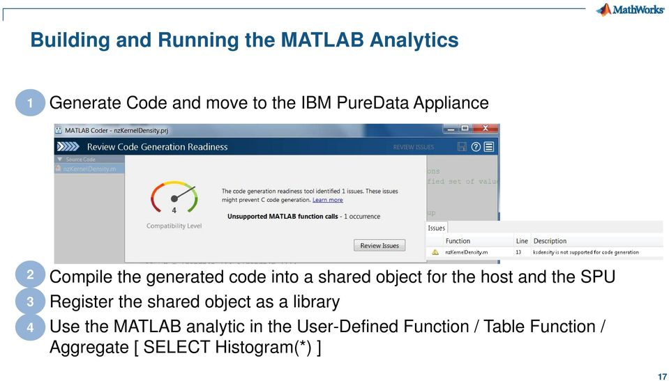 MATLAB in Business Critical Applications Arvind Hosagrahara