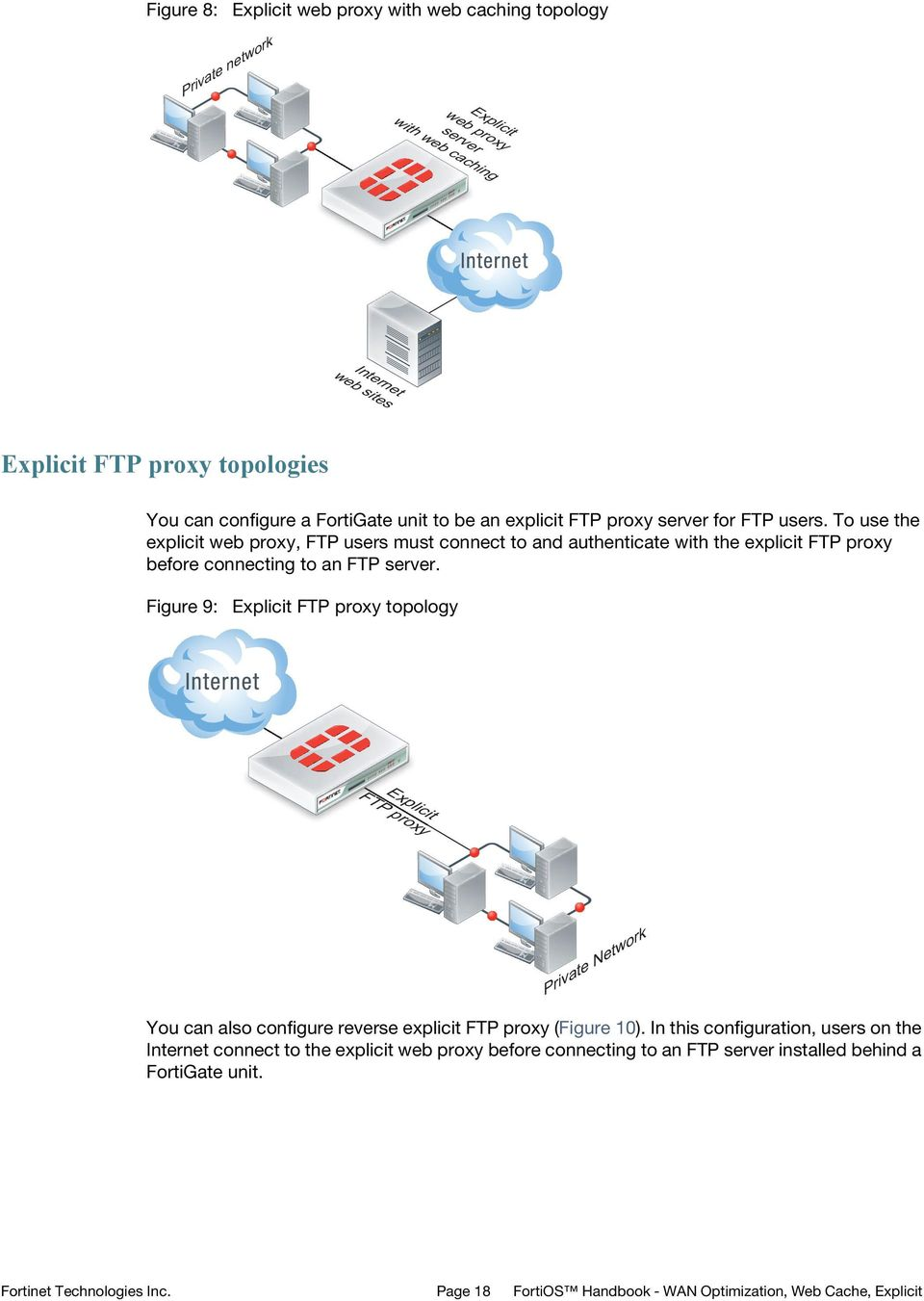 FortiOS Handbook WAN Optimization, Web Cache, Explicit Proxy, and