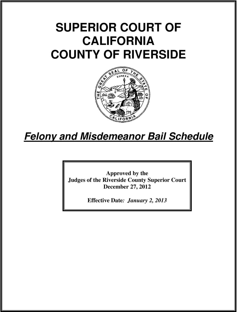 SUPERIOR COURT OF CALIFORNIA COUNTY OF RIVERSIDE - PDF
