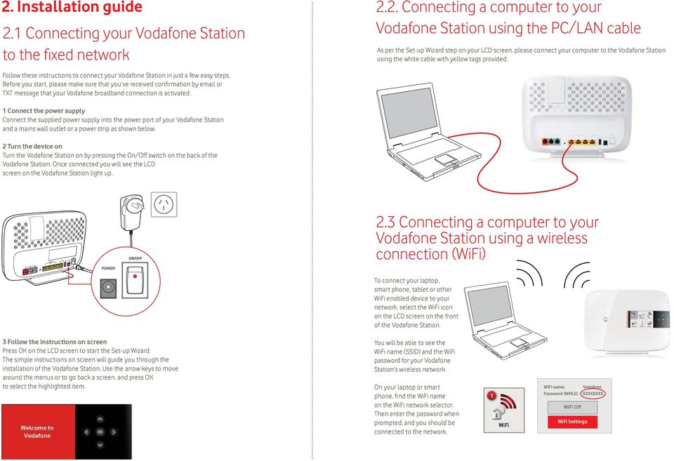 How To Change Vodafone Wifi Password Nz Change your