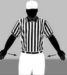 34. Forward pass interference can occur beyond or behind the neutral zone. 35. No live ball foul causes the covering official to sound his whistle immediately. 36.