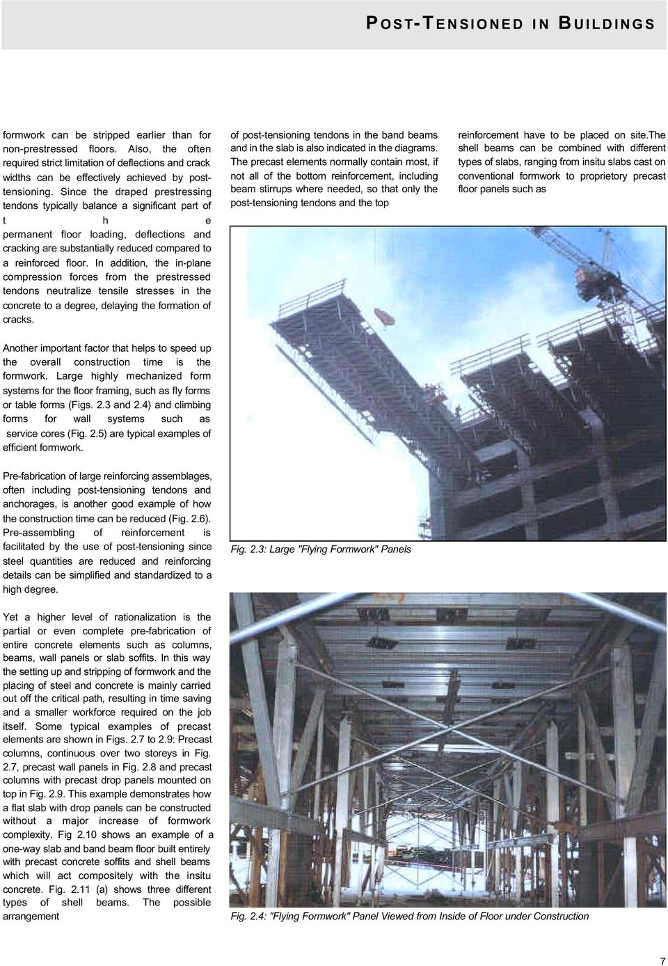 4 1 POST-TENSIONED IN BUILDINGS PUBLISHED BY VSL