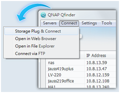 How to manage photos stored in a QNAP NAS? - PDF