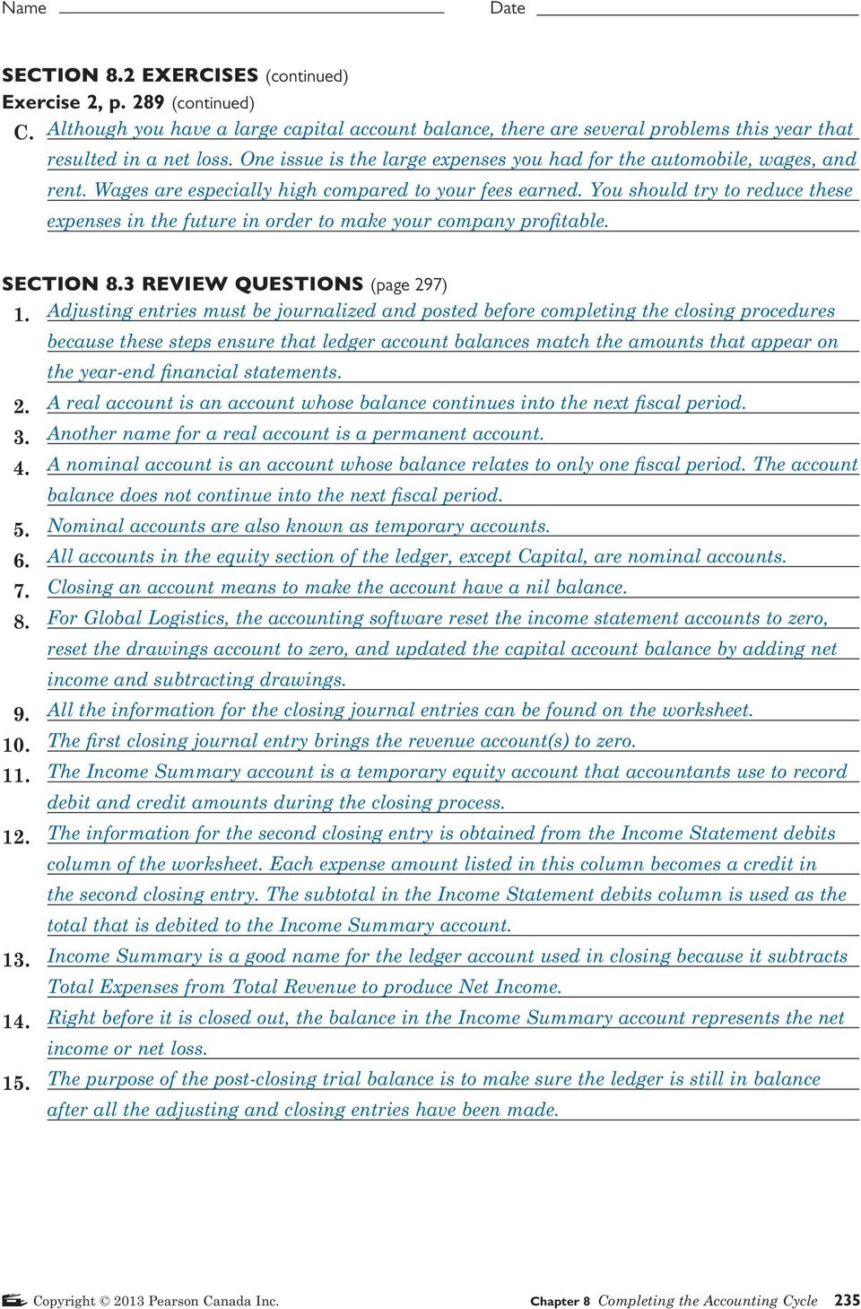 SECTION 8 1 REVIEW QUESTIONS (page 275) - PDF