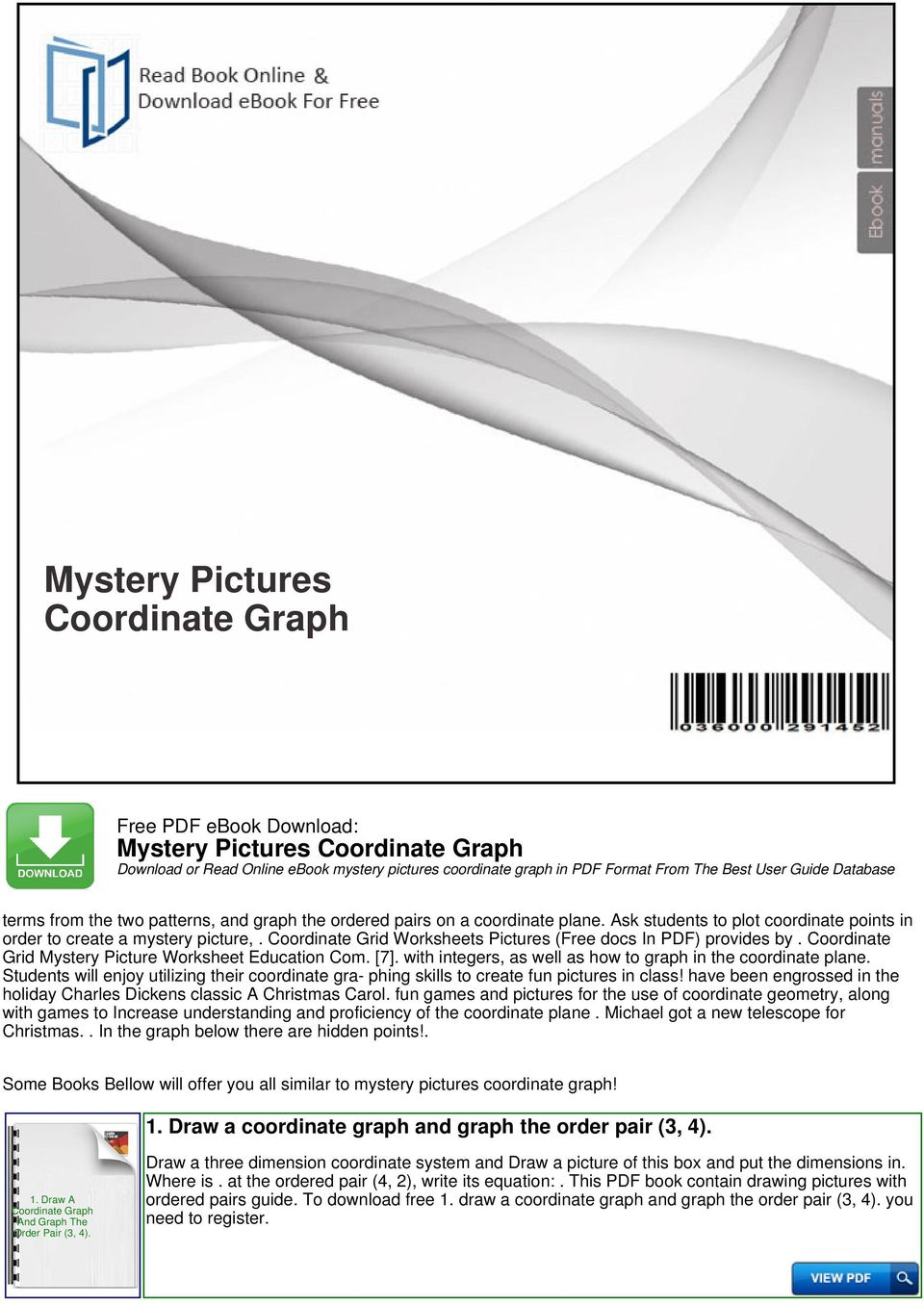 Mystery picture division ebook array mystery pictures coordinate graph pdf rh docplayer net fandeluxe Choice Image