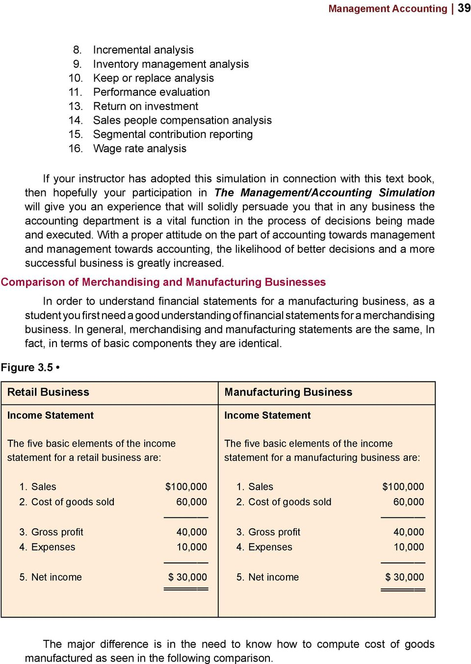 Wage rate analysis If your instructor has adopted this simulation in connection with this text book, then hopefully your participation in The Management/Accounting Simulation will give you an