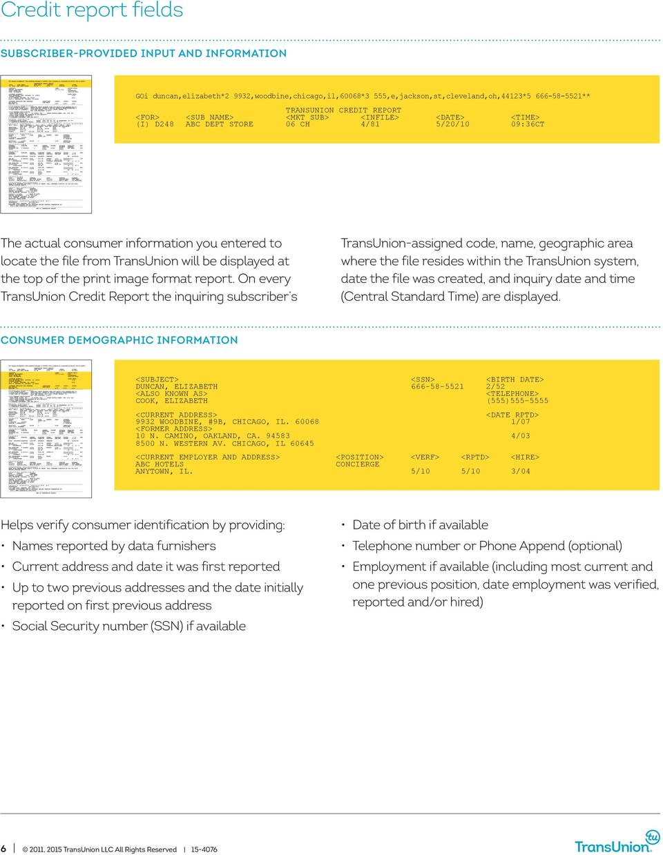 User Guide Transunion Credit Report User Guide Pdf Free Download
