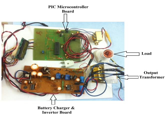 Design and Development of ON-LINE UPS using PIC Microcontroller - PDF